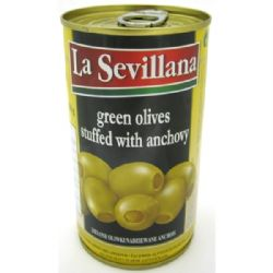 Anchovy Stuffed Green Olives 350g | Buy Online | Spanish Food | UK | Europe